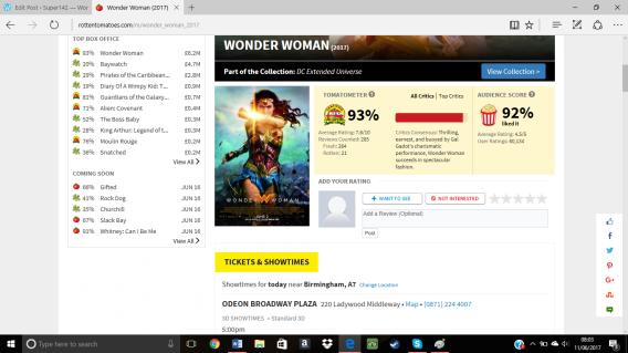 Wonderwoman rotten tomatoes.png