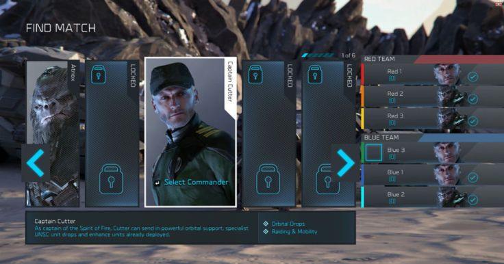 Halo Wars 2 leaders