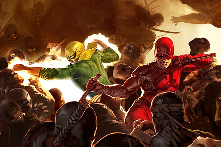 Daredevil and Ironfist